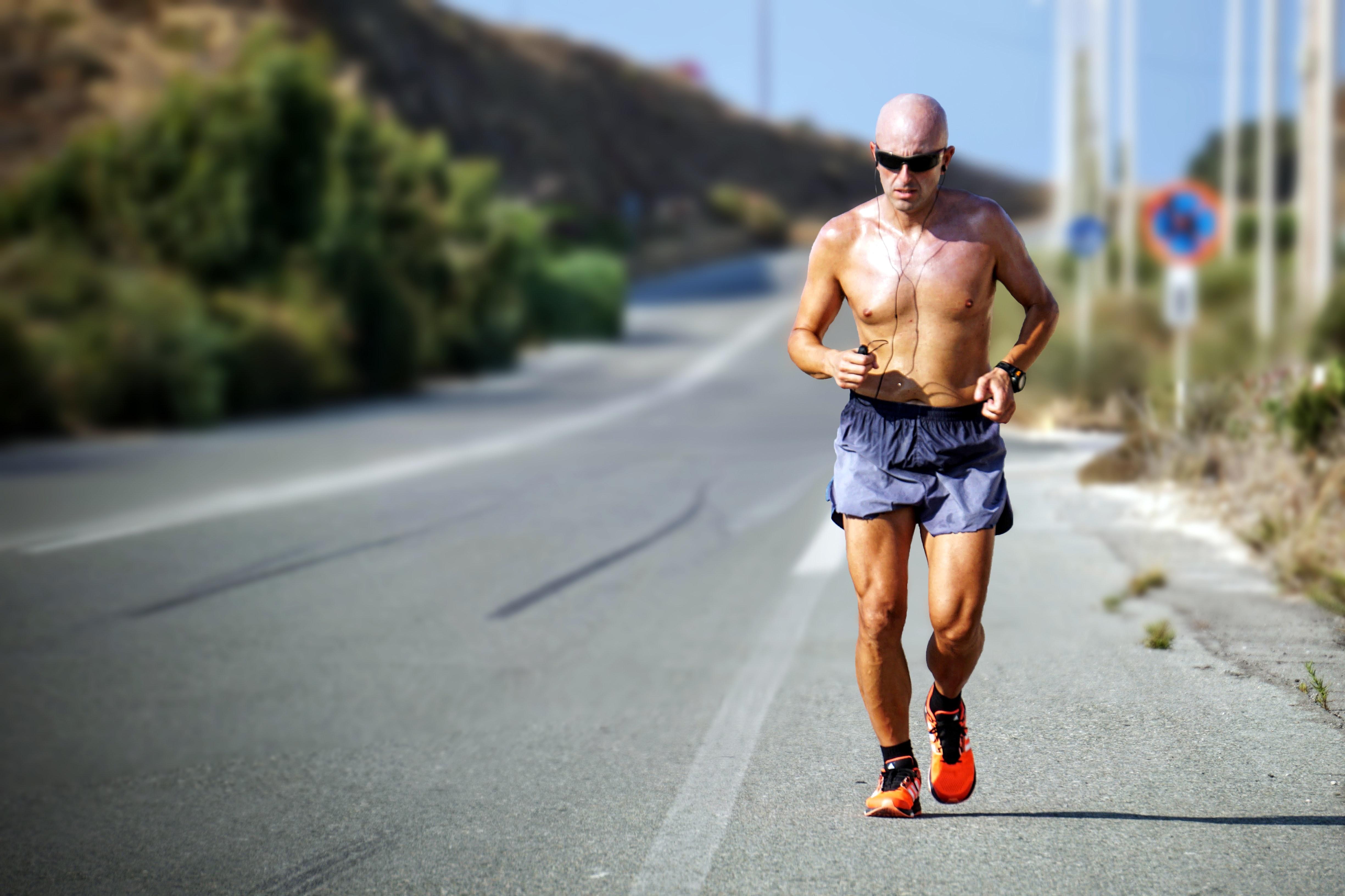 Бягане при горещо време TEST1
